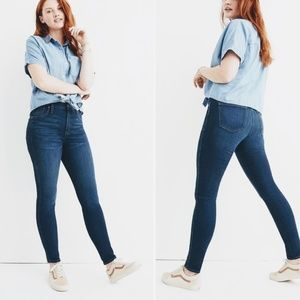 """Madewell Jeans - NWOT Madewell 10"""" high rise skinny jeans"""